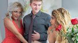 Kız arkadaşının annesi ile grup yapma keyfi